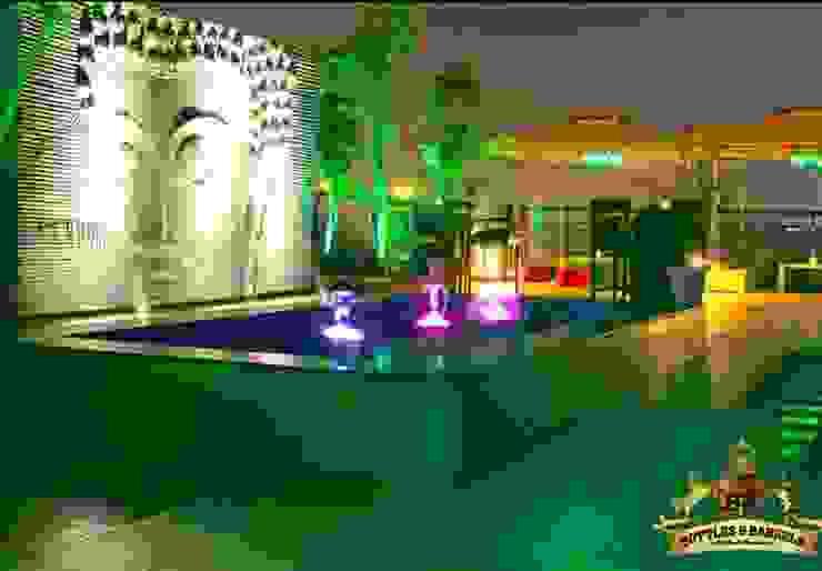 Hotel Golden Tree Faridabad Modern bars & clubs by Incense interior exterior pvt Ltd. Modern