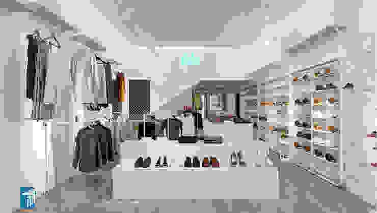 Shop thời trang bởi T House Architects Tối giản