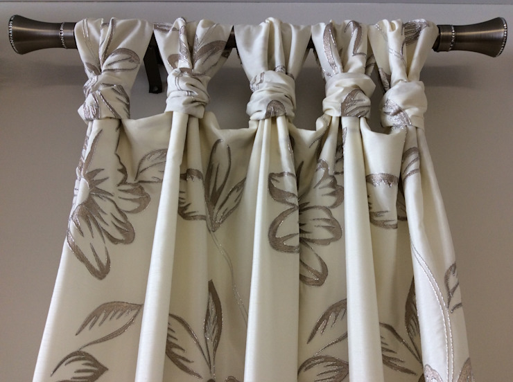 Drapery Headings : eclectic  by INNER HAVEN DECORATING,Eclectic Synthetic Brown