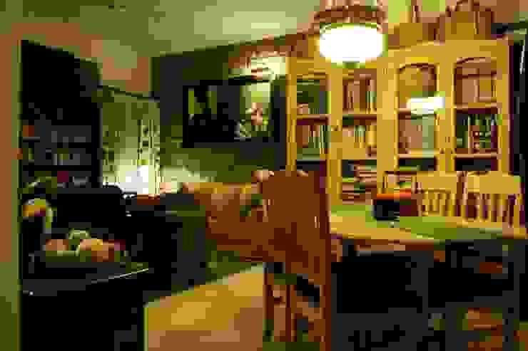 RESIDENCE Rubenius Rustic style living room