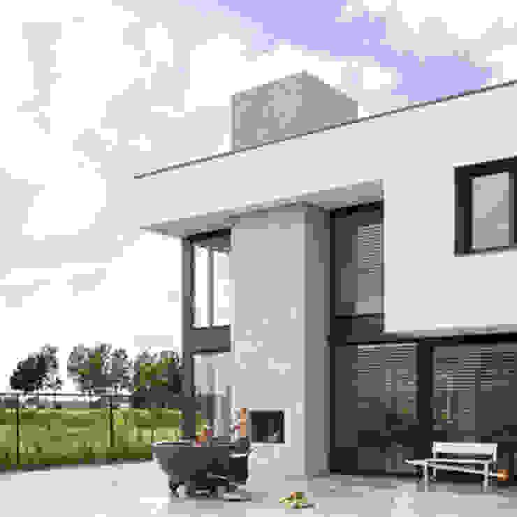 buitenhaard van Archstudio Architecten | Villa's en interieur Minimalistisch