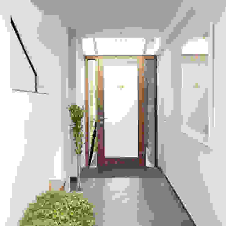 entree Archstudio Architecten | Villa's en interieur Moderne gangen, hallen & trappenhuizen Wit