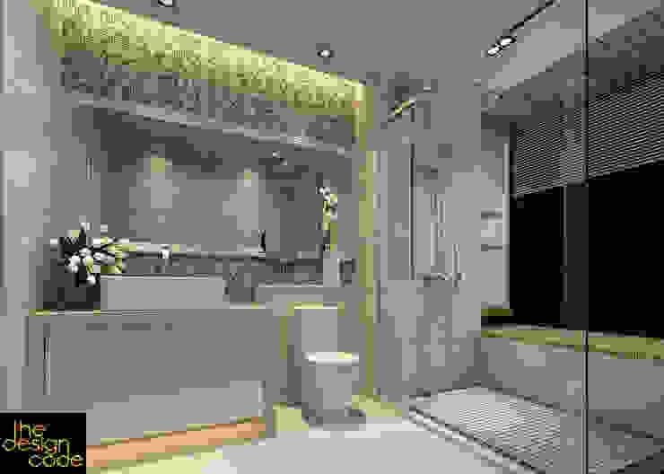 homify Classic style bathroom Stone Beige