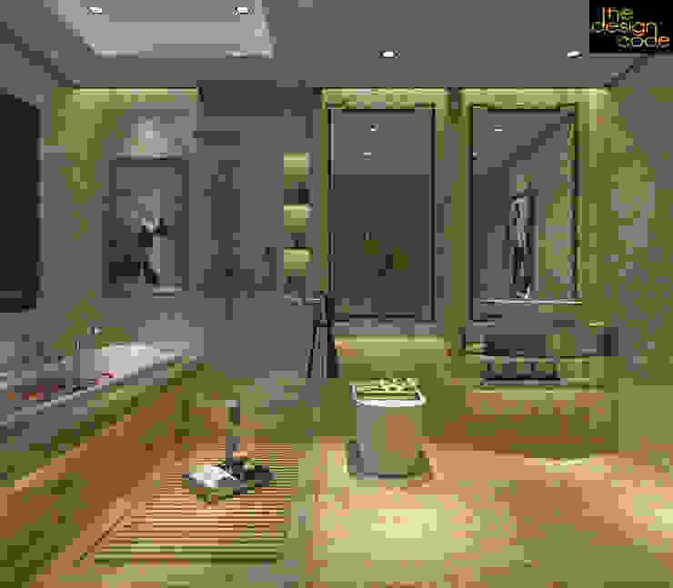 Phòng tắm phong cách kinh điển bởi homify Kinh điển Cục đá