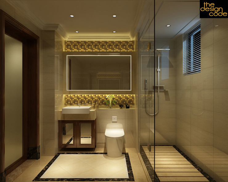 Classic style bathroom by homify Classic Stone
