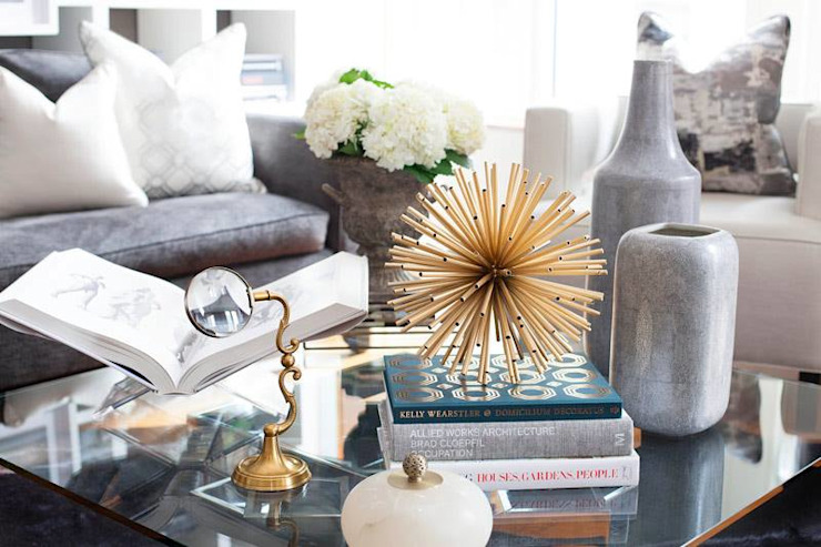 Making Your Coffee Table Stylish: modern  by Spacio Collections,Modern Metal