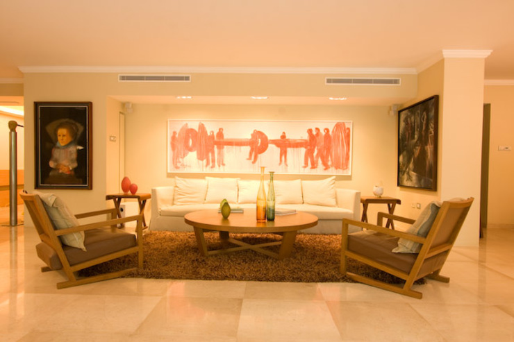 Salas de estar minimalistas por Complementos C.A. Minimalista
