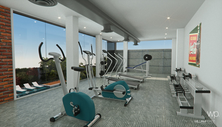 Minimalist gym by Complementos C.A. Minimalist