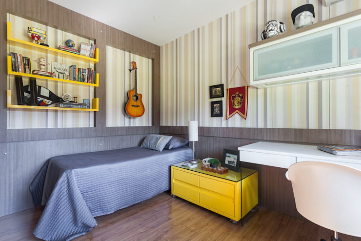 Bedroom by Escritorio de Arquitetura Karina Garcia, Modern