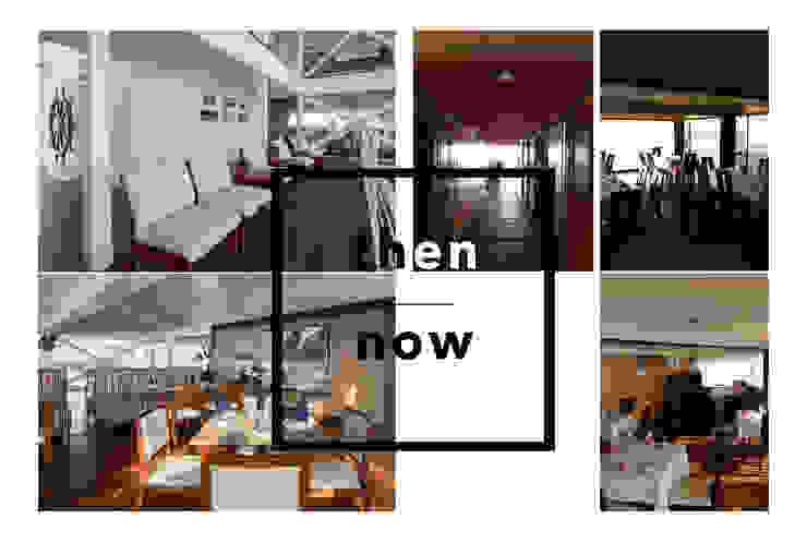 Antes y después / Then & now de Lores STUDIO. arquitectos Moderno Hierro/Acero