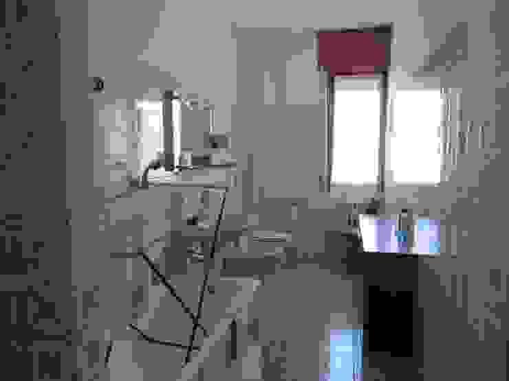 Architetto Alberto Colella Modern Bathroom Ceramic Yellow