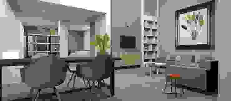 Ontwerp herinrichting woonkamer van AP-Interieurarchitect