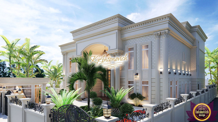 The best architect Katrina Antonovich Classic style houses by Luxury Antonovich Design Classic