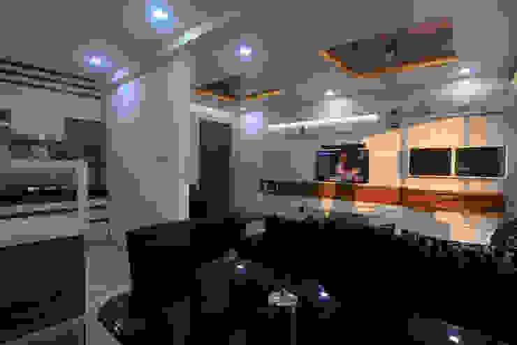 Interiors Modern living room by MSA INDIA Modern