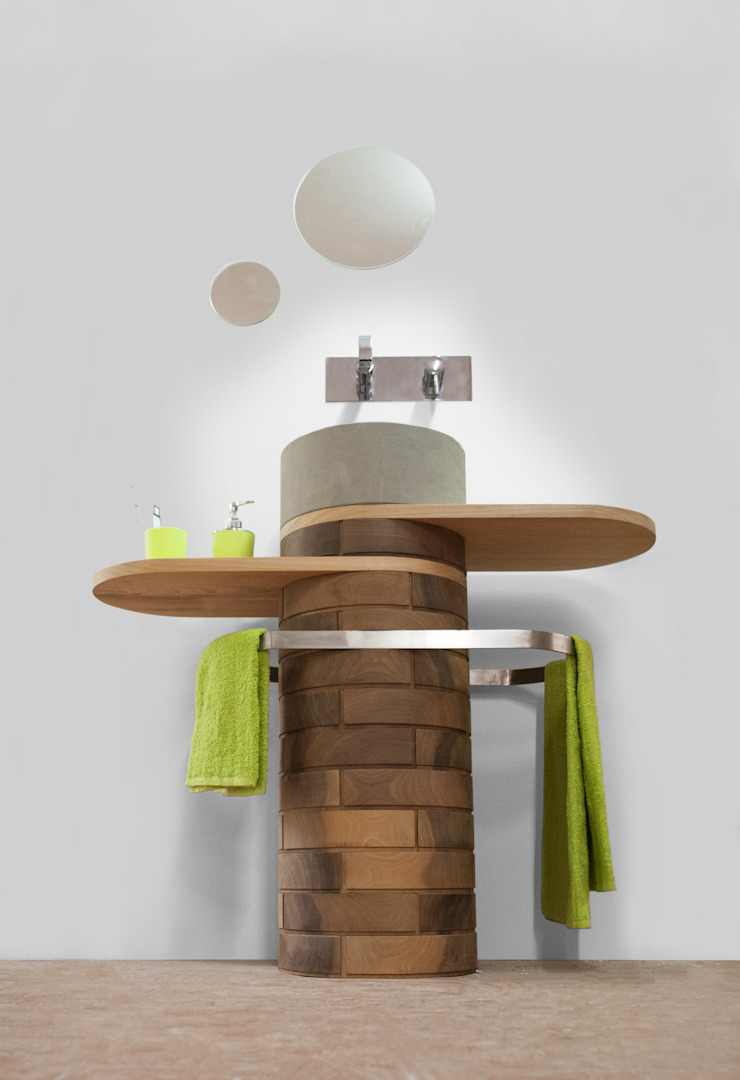 Blocco Arreda BathroomSinks Solid Wood