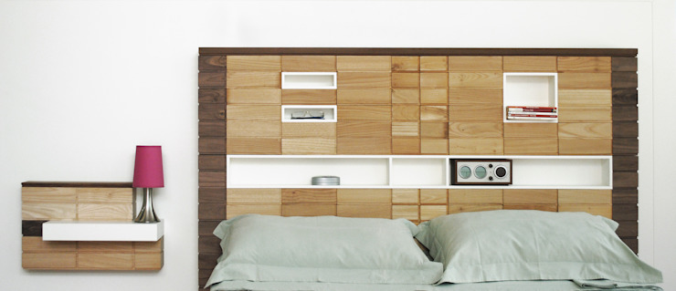 Blocco Arreda BedroomBeds & headboards Solid Wood