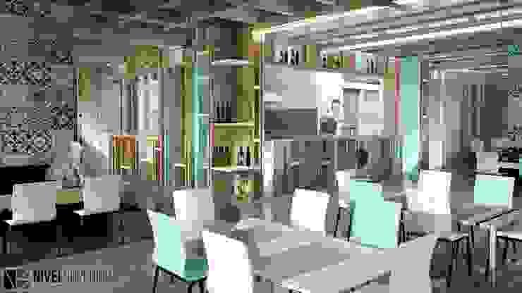 NIVEL SUPERIOR taller de arquitectura ห้องทานข้าว