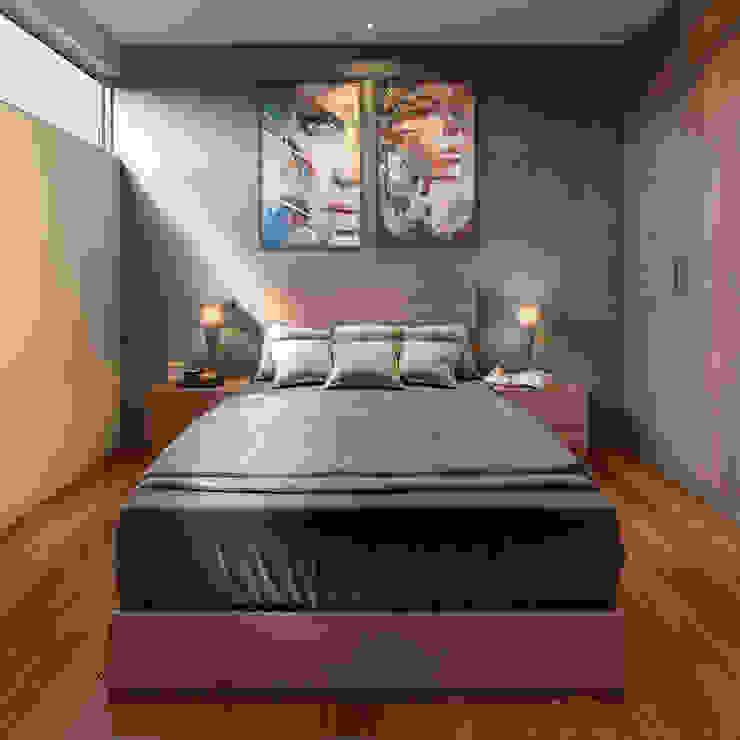 Modern Bedroom by CARCO Arquitectura y Construccion Modern