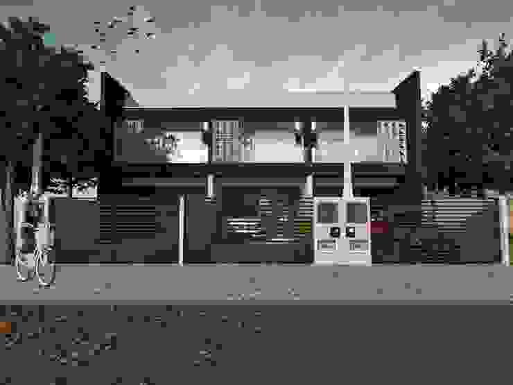 Casa Geminada em Joinville Ana Coutinho Arquitetura Casas geminadas