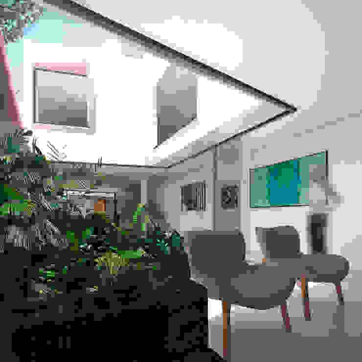 Jandim de Inverno Jardins modernos por ODVO Arquitetura e Urbanismo Moderno