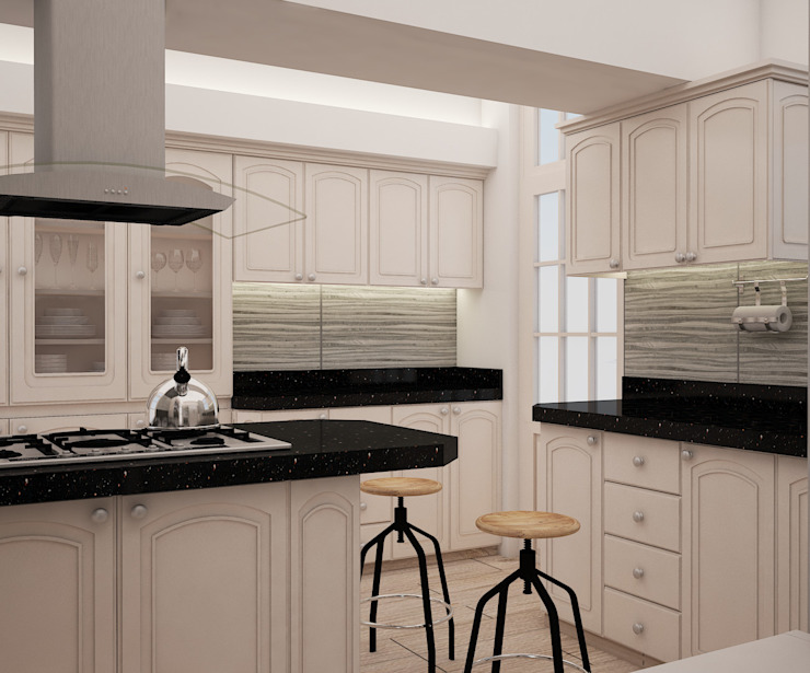 Spacio5 Kitchen units Wood White