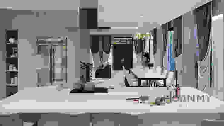 Modern Dining Room by Thương hiệu Nội Thất Hoàn Mỹ Modern