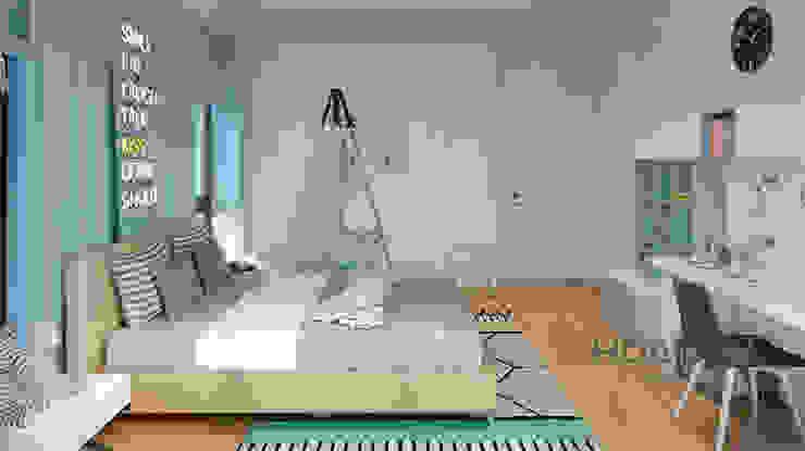 Thương hiệu Nội Thất Hoàn Mỹ Phòng ngủ phong cách hiện đại bởi Thương hiệu Nội Thất Hoàn Mỹ Hiện đại