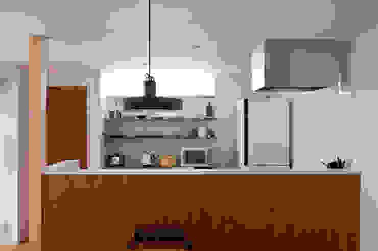 西ヶ崎町の家 横山浩之建築設計事務所 キッチン収納 合板(ベニヤ板)