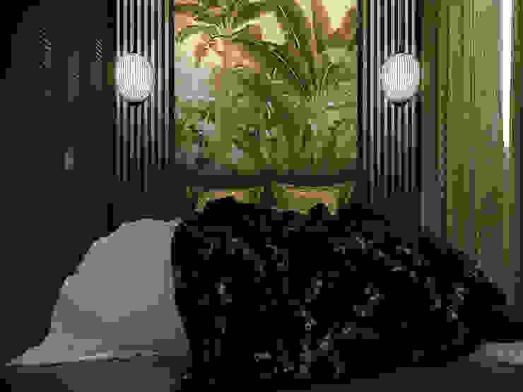 Masteri Thao Dien Apt.:  Phòng ngủ by BROS.studio