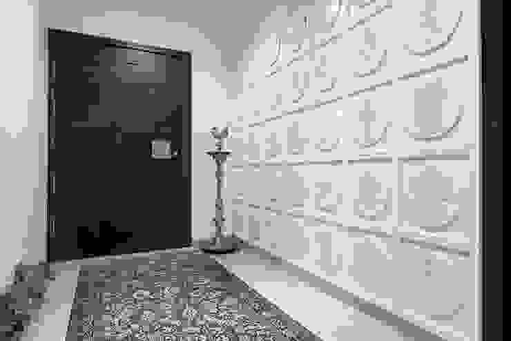 Premium home designs Bric Design Group Asian style corridor, hallway & stairs
