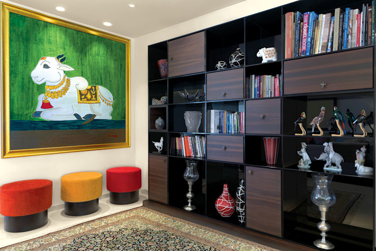 Premium home designs Bric Design Group Asian style study/office