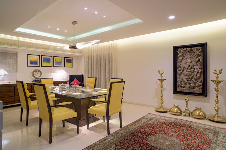 Premium home designs Bric Design Group Asian style dining room