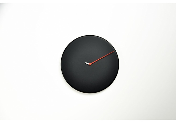 Progetti Less Wall Clock: modern  by Just For Clocks,Modern Wood Wood effect