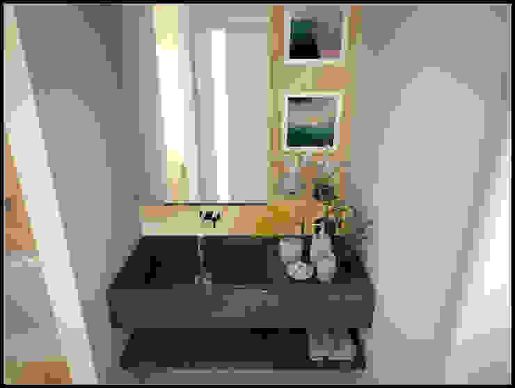 AG Interior Design Modern Bathroom Tiles Amber/Gold