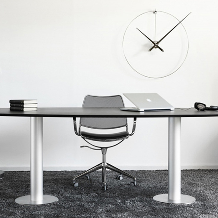 Nomon New Anda - Black Lacquered: modern  by Just For Clocks,Modern Iron/Steel