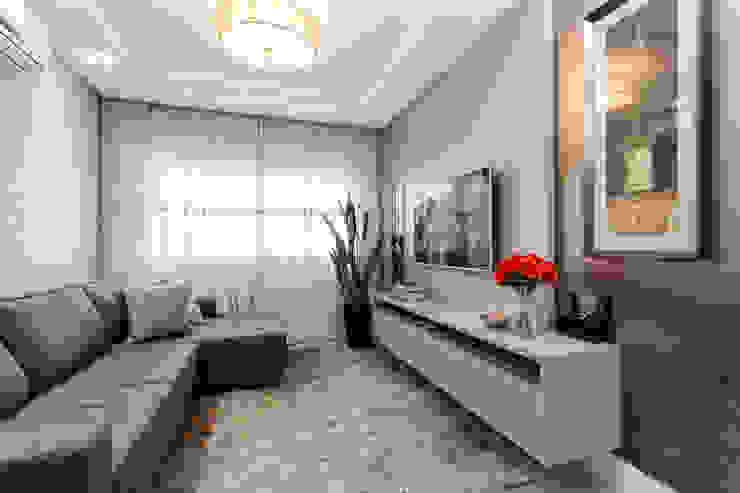 Sala de Estar Salas de estar modernas por Escritorio de Arquitetura Karina Garcia Moderno