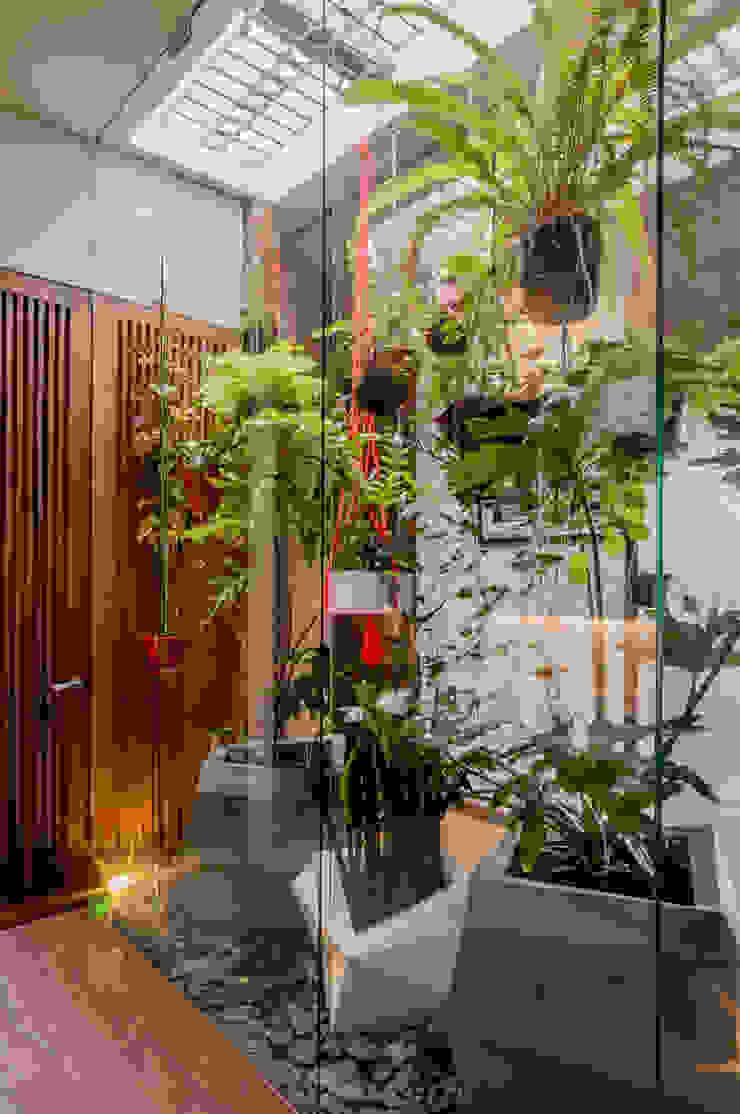 INTERIOR GARDEN Martínez Arquitectura Jardines zen