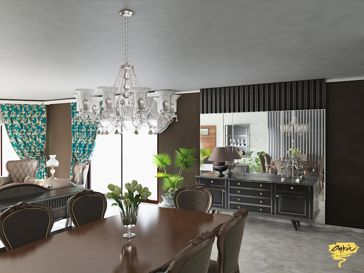 Dining room by Öykü İç Mimarlık, Modern