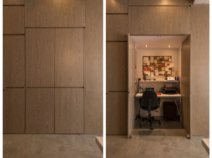 STUDIO Salas de estilo minimalista de Martínez Arquitectura Minimalista