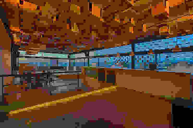 Martínez Arquitectura Minimalistyczny salon