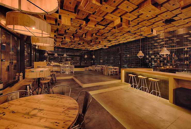 RESTAURANT Martínez Arquitectura Comedores de estilo minimalista