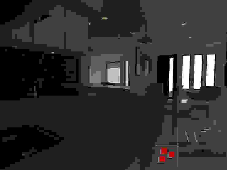 Proyecto Casa Ospina Cocinas modernas de Arquitecto Andrés Fonseca Moderno