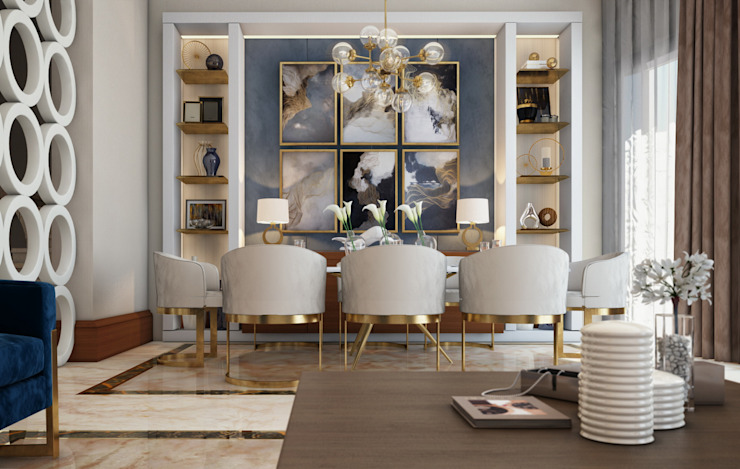 Private Villa - Royal Maxim Modern dining room by RDW Architects Modern