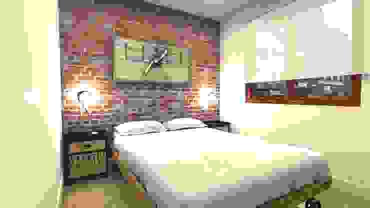 Dormitorio Principal homify Cuartos industriales