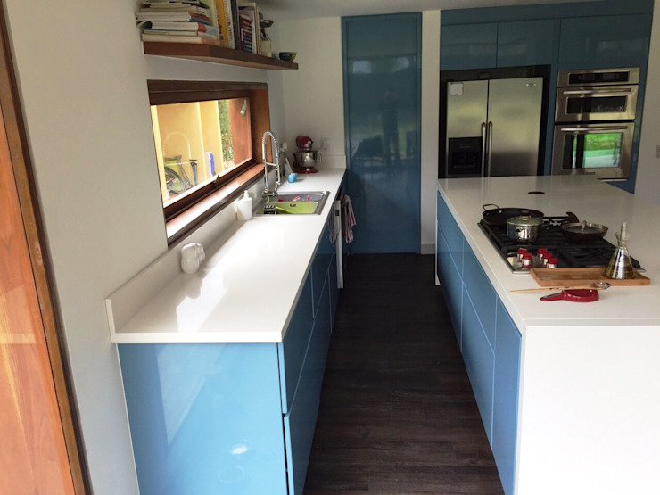 Dapur Modern Oleh MODE ARQUITECTOS SAS Modern