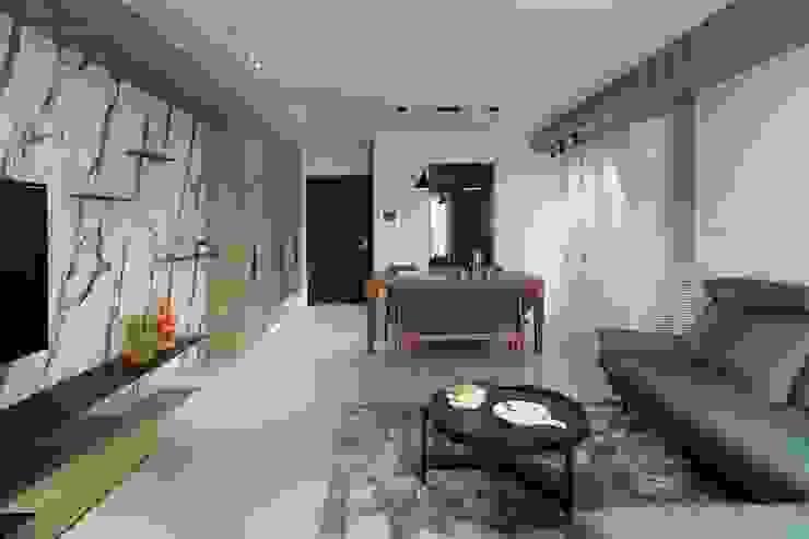 木皆空間設計 Salas de estilo moderno