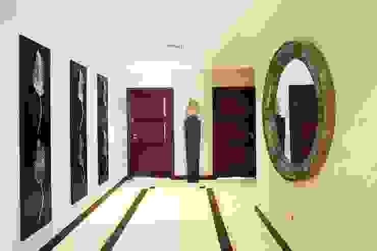 Palm Jumeirah 1 إنتقائي، أسلوب، الرواق، رواق، &، درج من Chameleon Interior إنتقائي
