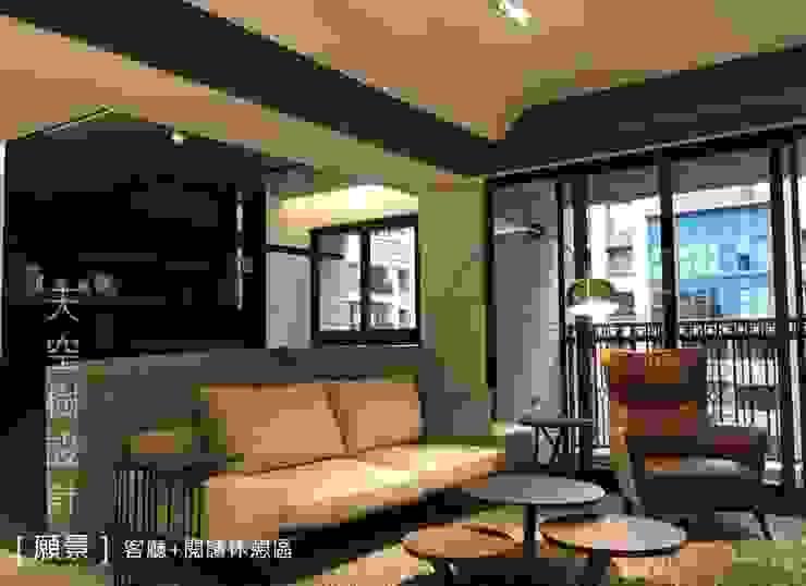 [願景] 现代客厅設計點子、靈感 & 圖片 根據 designskytree 現代風