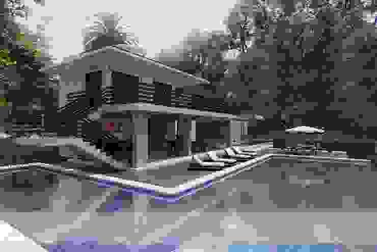 Modern pool by Arquitectos y Entorno S.A.S Modern