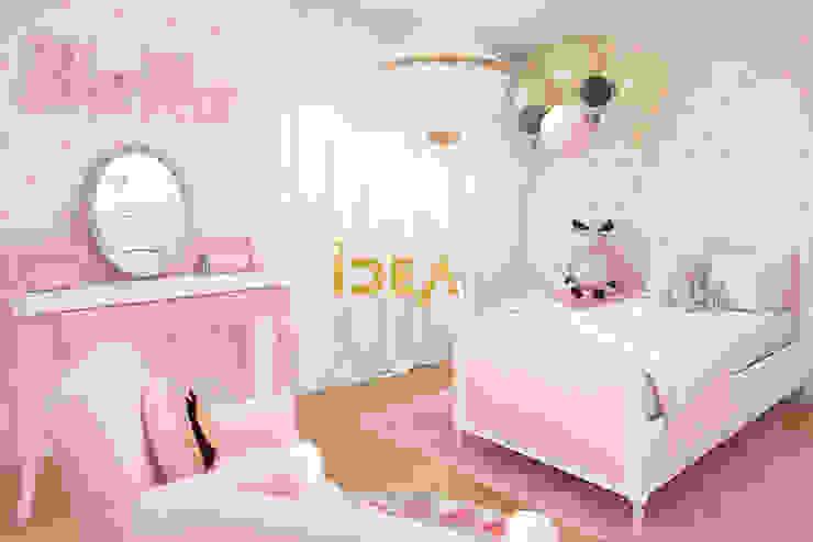غرفة نوم بنات تنفيذ Empolgant Idea, كلاسيكي خشب متين Multicolored